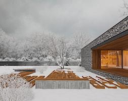 Dom drewno-centryczny - Domy, styl nowoczesny - zdjęcie od NSKY architekci - Homebook