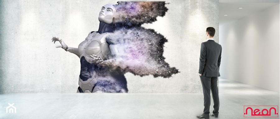 Nasze projekty:) - zdjęcie od Neon - Drukowanie po ścianie