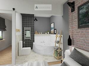 łazienka w sypialni - zdjęcie od S T R E F A Agnieszka Chlebda