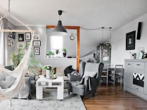 Mój dom - Salon, styl skandynawski - zdjęcie od S T R E F A Agnieszka Chlebda
