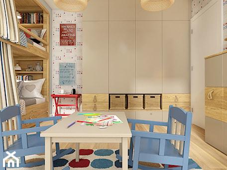 Aranżacje wnętrz - Pokój dziecka: Z folklorem w tle - Średni biały szary pokój dziecka dla chłopca dla dziewczynki dla rodzeństwa dla malucha - WERDHOME. Przeglądaj, dodawaj i zapisuj najlepsze zdjęcia, pomysły i inspiracje designerskie. W bazie mamy już prawie milion fotografii!