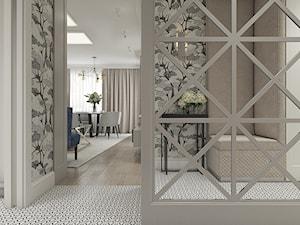 Mieszkanie w stylu nowojorskim - Średni szary hol / przedpokój, styl nowojorski - zdjęcie od WERDHOME