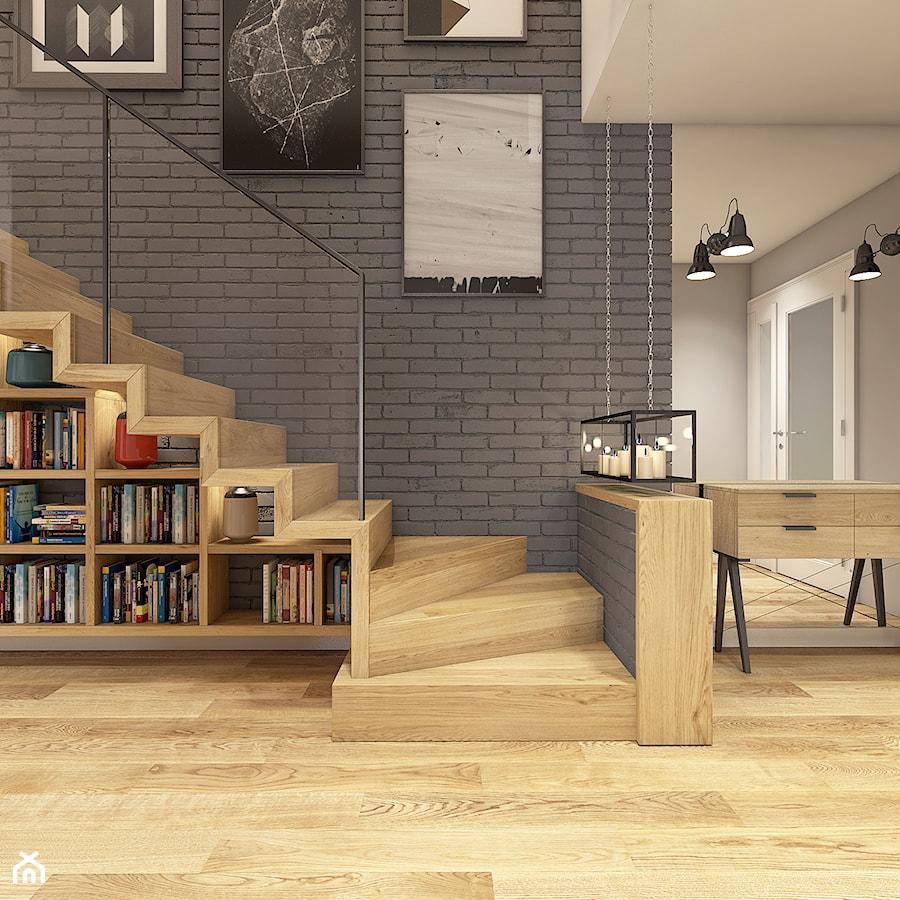 Dom w Opolu - Schody, styl nowoczesny - zdjęcie od WERDHOME