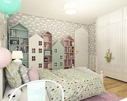 Dom w Opolu - Średni pokój dziecka dla dziewczynki dla malucha, styl skandynawski - zdjęcie od WERDHOME