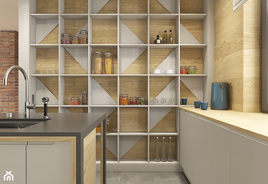 Dom pod Krakowem - przestrzeń zupełna - Kuchnia, styl nowoczesny - zdjęcie od WERDHOME