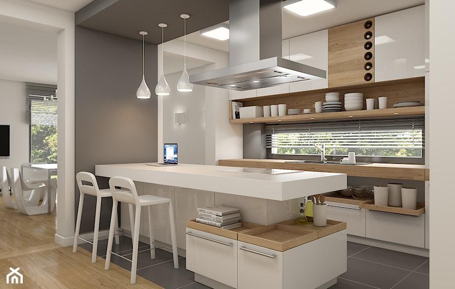 Prosta elegancja  zdjęcie od WERDHOME -> Kuchnie Na Poddaszu Aranzacje