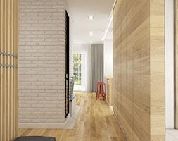 Dom w Bolesławcu - Średni biały hol / przedpokój, styl nowoczesny - zdjęcie od WERDHOME