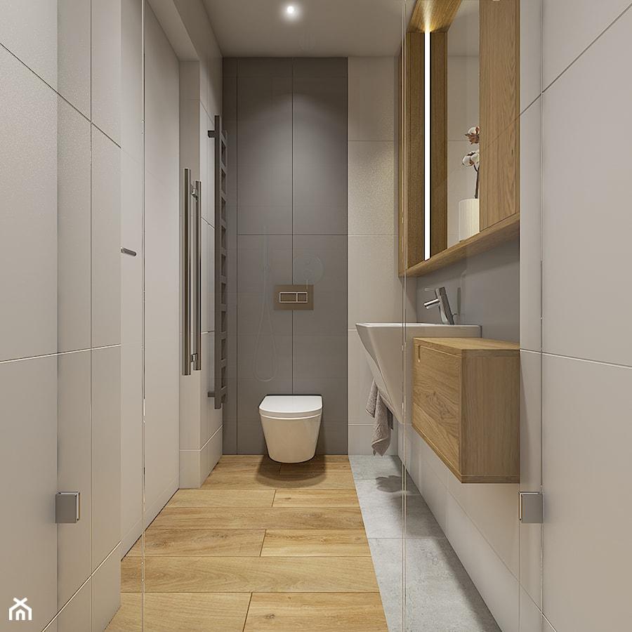 Dom pod Krakowem - przestrzeń zupełna - Mała łazienka - zdjęcie od WERDHOME