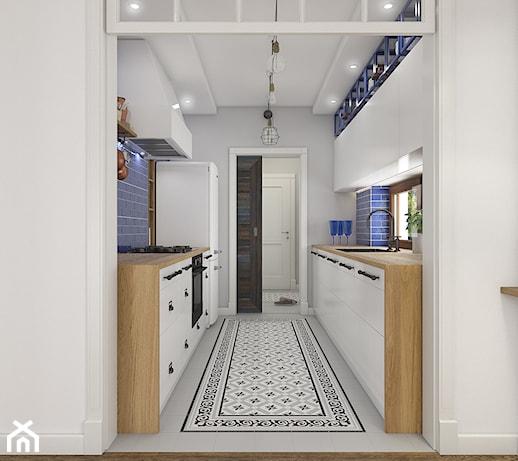 Z indygo w tle  Kuchnia  zdjęcie od WERDHOME