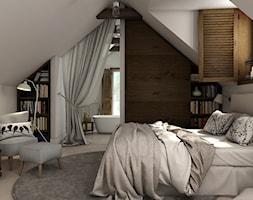Sypialnia na poddaszu - zdjęcie od WERDHOME