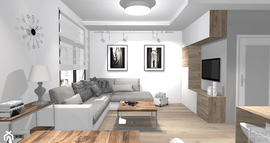 Open space redni salon styl nowoczesny zdj cie od for Salon open space