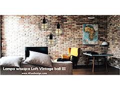 Lampa wisząca Loft Vintage ball III