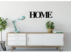 Napis na ścianę 3D Home