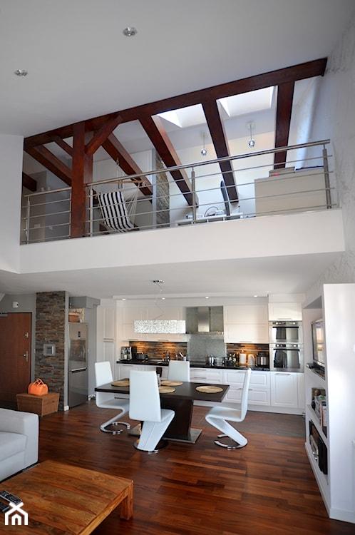 Projekt mieszkania dwupoziomowego #konkurs