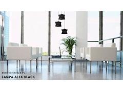 Lampa wisząca Alex black 3