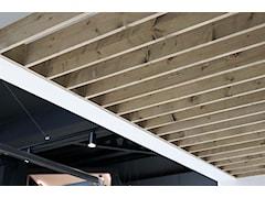 Pionowe panele drewniane Hausder