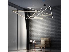 Nowoczesne minimalistyczne lampy LED.