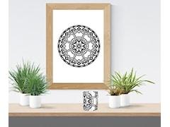 Grafika Mandala