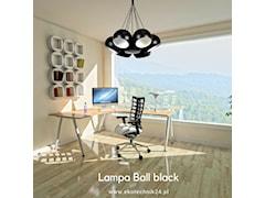 Lampa wisząca Ball black - white VII