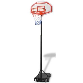 VidaXL Zestaw do koszykówki, przenośny, 250 cm