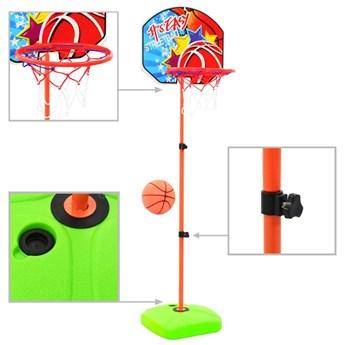 VidaXL Zestaw do koszykówki dla dzieci