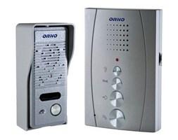 Zestaw domofonowy jednorodzinny, bezsłuchawkowy, szary, ELUVIO