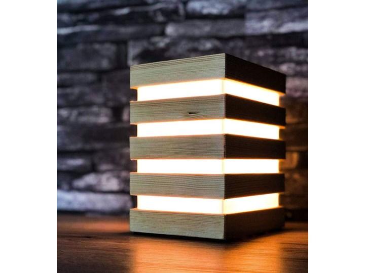 Dotykowa lampka nocna LED - EX378-Selax Lampa nocna Lampa LED Styl Skandynawski