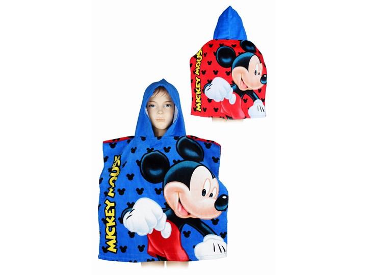 Ręcznik bawełniany ponczo z kapturkiem Myszka Mickey 55x110, Setino