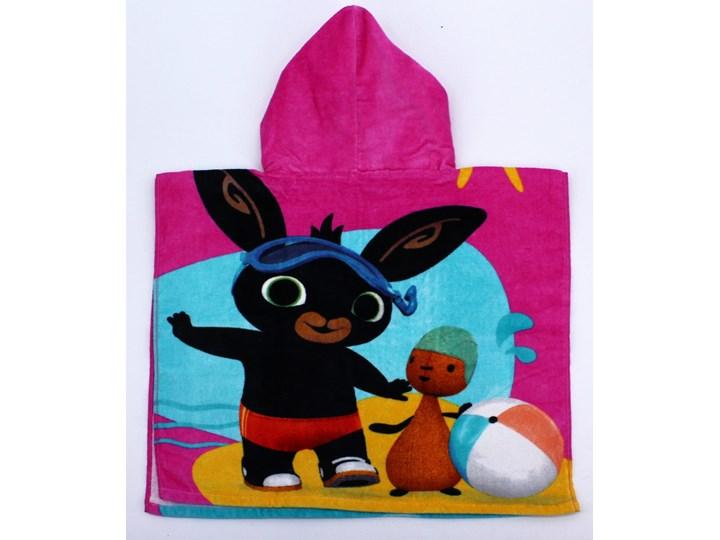 Ręcznik bawełniany ponczo z kapturkiem Bing & Sula 55x110, Setino Frotte Ręcznik z kapturkiem Ręcznik kąpielowy Bawełna Ręcznik plażowy 50x100 cm Kategoria Ręczniki Dziecięce Kolor Różowy