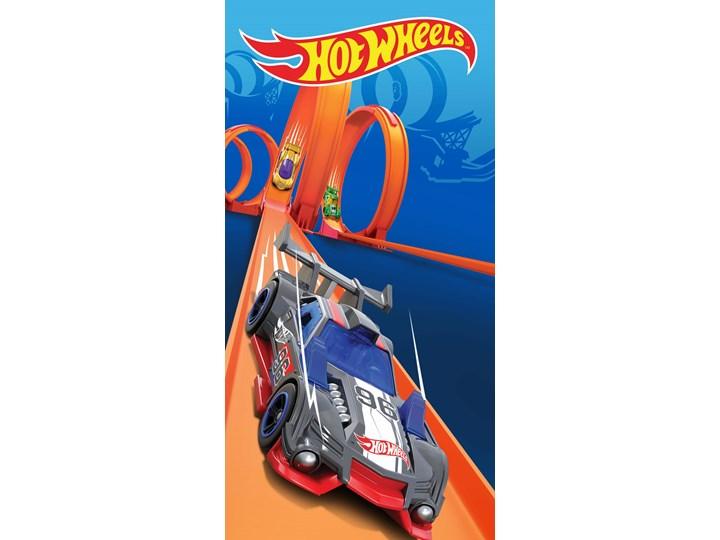 Carbotex Ręcznik bawełniany Hot Wheels 70x140