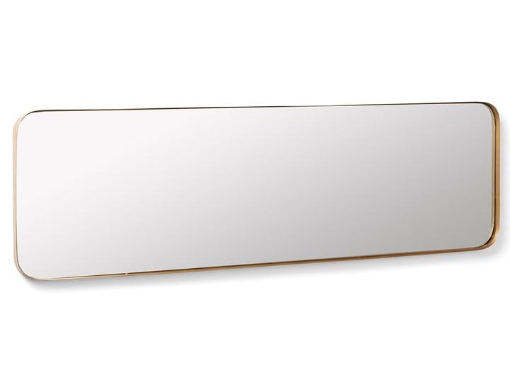 Lustro Marcus 30x100 cm złote Ścienne Prostokątne Lustro z ramą Pomieszczenie Sypialnia