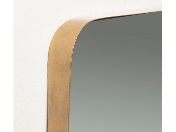 Lustro Marcus 30x100 cm złote Ścienne Kolor Szary Prostokątne Lustro z ramą Pomieszczenie Sypialnia