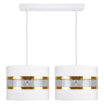 Żyrandol na lince LIND 2xE27/60W/230V biały