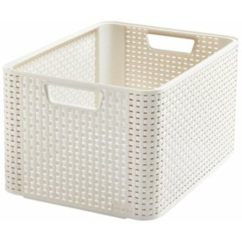 Koszyk CURVER Style Box L V2 - OWH885 Kremowy