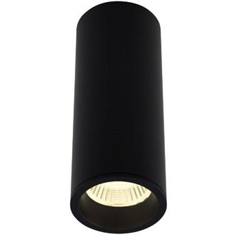 Long C0154 lampa sufitowa/plafon okrągły czarny