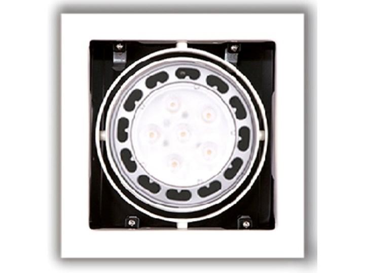 Matrix I WH H0059 oprawa halogenowa Kwadratowe Oprawa stropowa Oprawa ruchoma Kategoria Oprawy oświetleniowe
