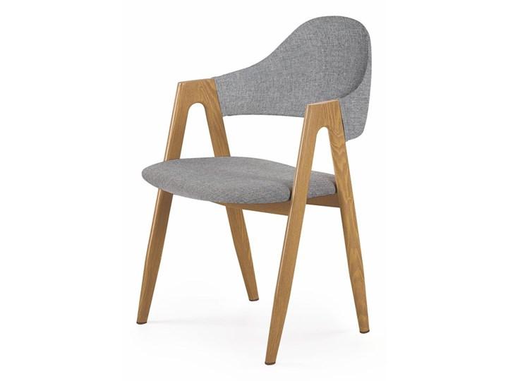 HALMAR KRZESŁO K344 KUCHNIA/JADALNIA/SALON/BIURO/PRACOWNIA AWANGARDOWY POPIELATY/SZARY Kategoria Krzesła kuchenne