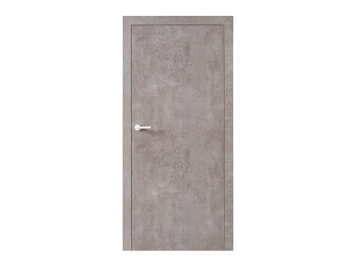 Skrzydło drzwiowe VOX Smart bez muf kolor Beton Jasny