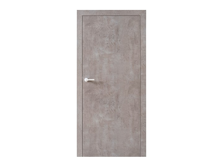 Skrzydło drzwiowe VOX Smart bez muf kolor Beton Jasny Typ Drzwi pełne
