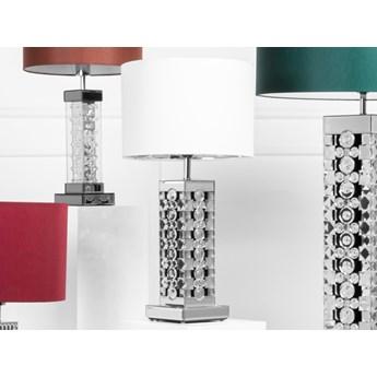 Lustrzana lampa glamour do salonu 16x16x37cm TMZ183