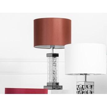 Lustrzana lampa z kryształkami 13x13x46cm 15JS0009