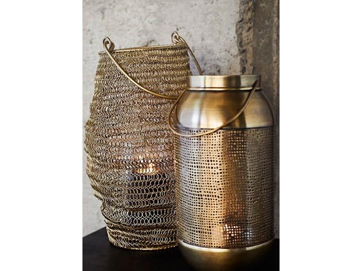 LAMPION BRASS MADAM STOLTZ Metal Kategoria Świeczniki i świece Żelazo Kolor Złoty