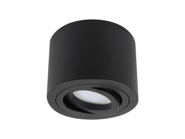 PP P 200 BK MIDI PLAFON NOWOCZESNA LAMPA SUFITOWA OPRAWA NATYNKOWA ALUMINIUM CZARNY LED NISKI 6,5 CM Oprawa stropowa Okrągłe Kategoria Oprawy oświetleniowe Oprawa led Kolor Szary