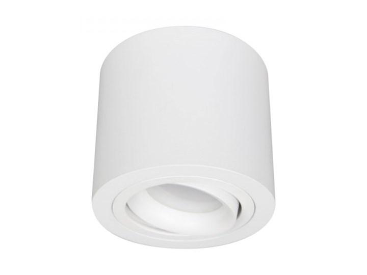PP P 150 WH PLAFON NOWOCZESNA LAMPA SUFITOWA OPRAWA NATYNKOWA ALUMINIUM BIAŁY PAR16 GU10 LED