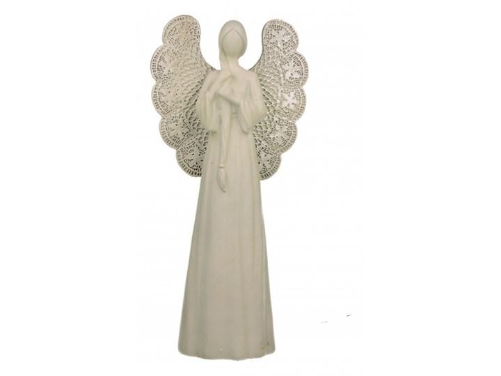 Figurka Anioł 1 ażurowy 26 cm kod: 5902693916796