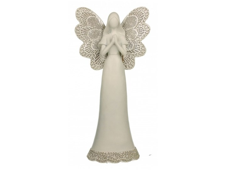 Figurka Anioł 2 ażurowy 27 cm kod: 5902693916802
