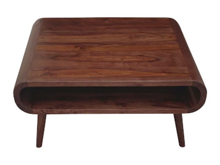 Stolik GUBBE - 80x60 cm (Karmel) Zestaw stolików Drewno Kolor Beżowy