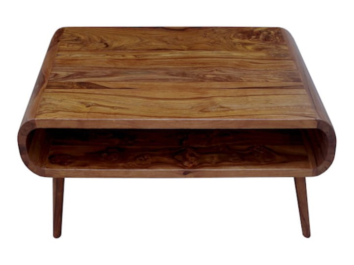 Stolik GUBBE - 80x60 cm (Karmel) Zestaw stolików Drewno Rozmiar blatu 60x80 cm Kategoria Stoliki i ławy