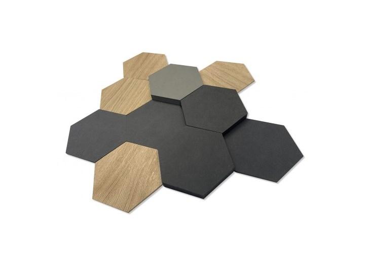 Panel dekoracyjny hexagon drewno 3d
