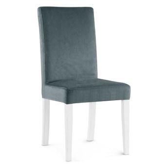 Bettso Krzesło WILLIAM szary/ noga biała/ PA06
